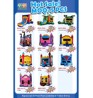 Inflatable Castles Bouncer Package Price