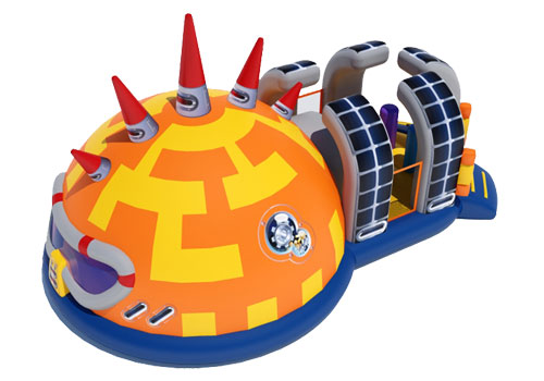 Battlestar Galactica Inflatable obstacle