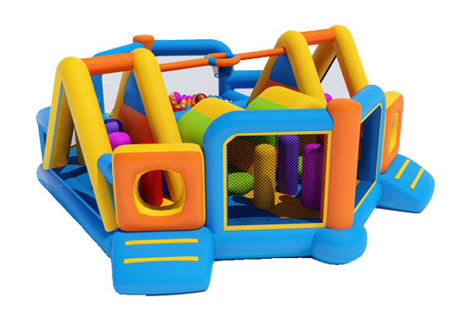 Inflatable Multi Zone Obstacle Game