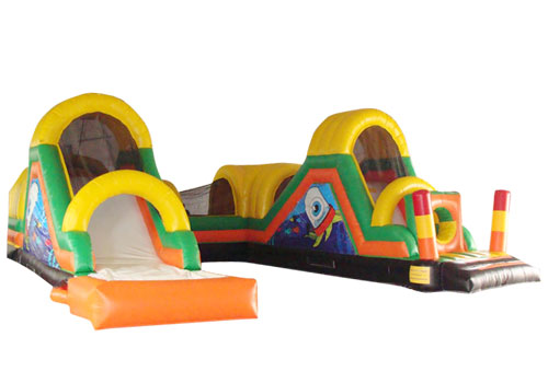 Tunnel inflatable obstacle course