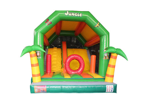Jungle Animal Inflatable Jumper Combo
