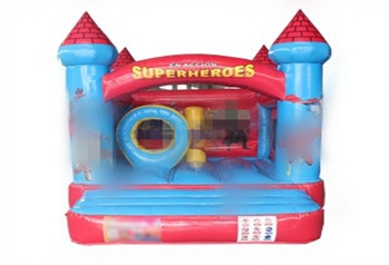 Superheros inflatable jumping house