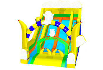 Minnions inflatable big slide