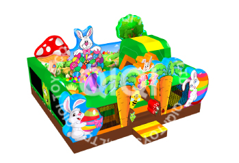 Happy-easter-inflatable-playground