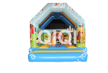 animal world inflatable bouncer