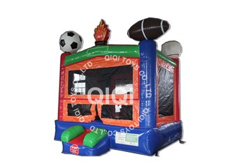 football inflatable castle