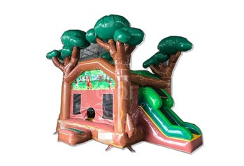 jungle inflatable castle combo