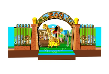 Funny Zoo  Jumping Playland