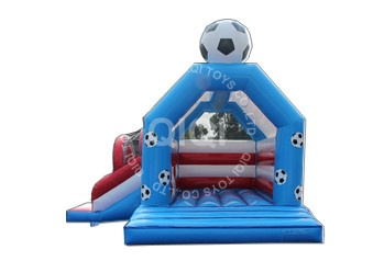 Football Castle with slide