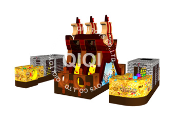 Pirate Kingdom Air Castle Combo Units