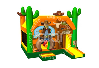 Cowboy bouncy house
