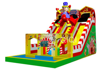 new design clown water slide