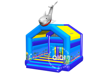 Shark ocean theme bouncer