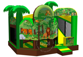 Classic 5-in-1 with jungle themes and any themes you want