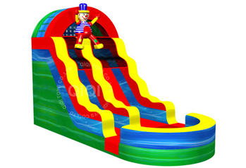 the new Clown theme slide