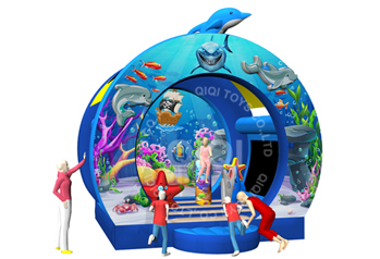 new Underwater world theme bouncer