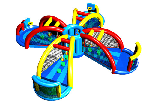 3 in 1 Inflatable Sport Game