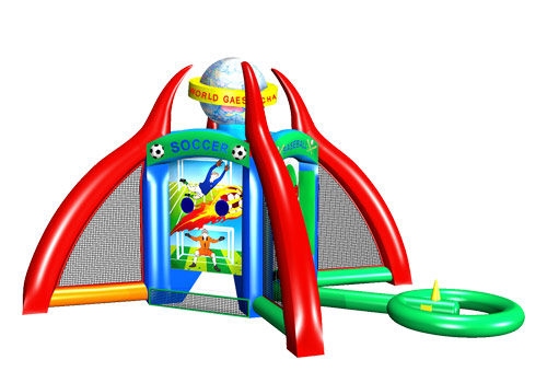 4 in 1 interactive inflatable sport game