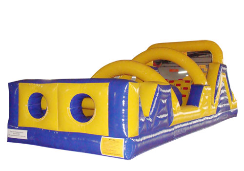 40ft Outdoor Inflatable Obstacle Course