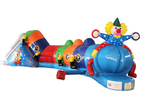 46ft Inflatable Clown Tunnel