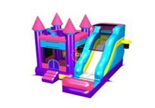 5 in 1 Castle Bouncer Slide Combo