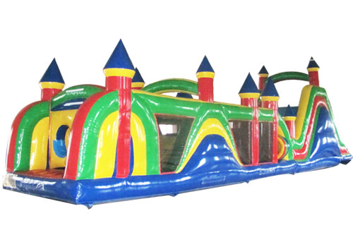 60ft Commercial inflatable obstacle course