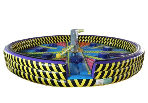 8 Players' Inflatable Wipe Out Game