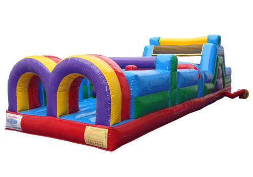 88ft Inflatable Obstacle Course part two
