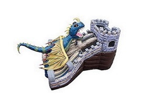 Attractive Dragon Castle Giant Slide