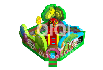 Candy forest jumping castle playland
