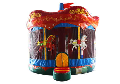 Carousel Castle Bouncer