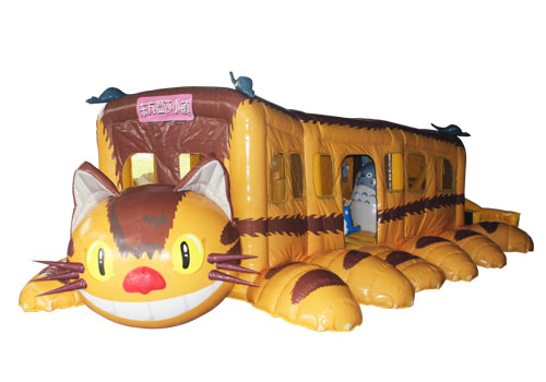 Cat Bus Inflatable Bouncy Playground