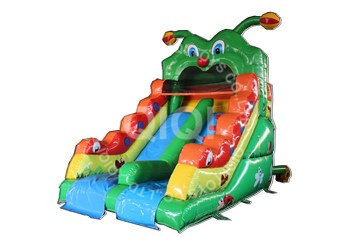 Caterpillar inflatable air bouncing slide