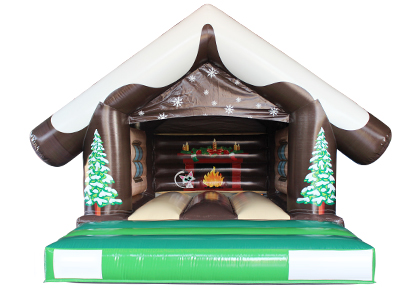Christmas Snow Bounce House