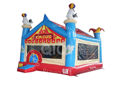 Circus inflatable bouncing jumper