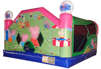 Classic Peppa Pig Bounce House