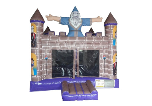 Classic Wizard Bouncy Castle