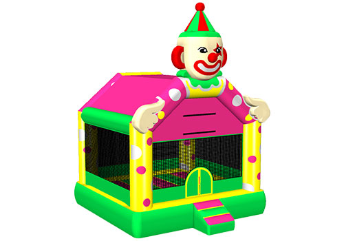 Commercial Clown Bounce House