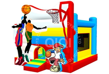 Commercial Inflatable Basketball Bouncer