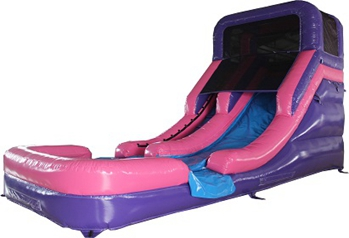 Commercial inflatable pool water slide