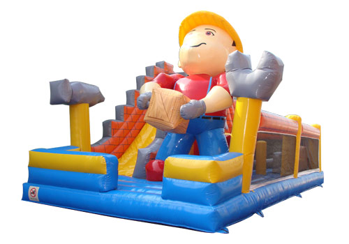 Construction Field Inflatable Playground