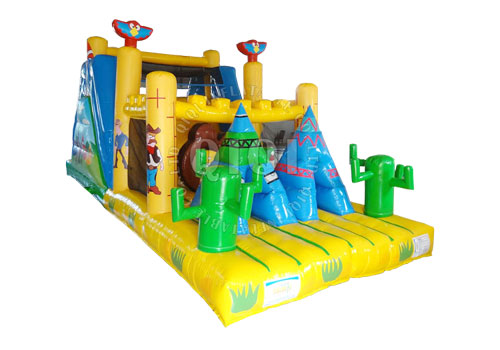 Cow Boy Inflatable obstacle course
