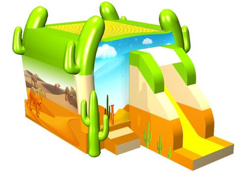 Desert Bounce House with Slide