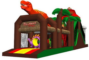 Dinosaur inflatable air jumping castle park