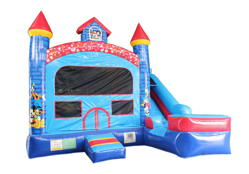 Disney Inflatable Castle With Slide