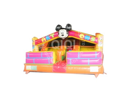 Disney Cartoon Inflatable Slide