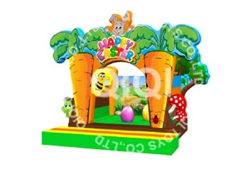 Easter Rabbit jumping castle