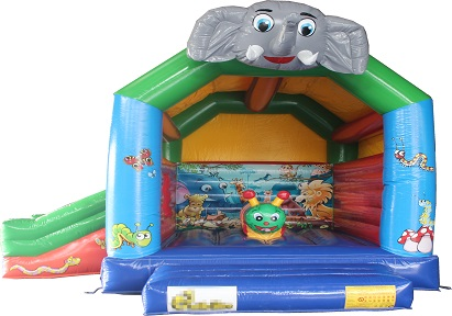 Elephent inflatable bounce house