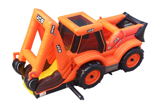 Digger Commercial Inflatable Jumping Slide