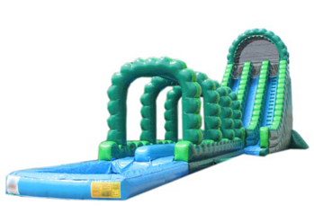 Fantastic Hulk Giant Water Slide